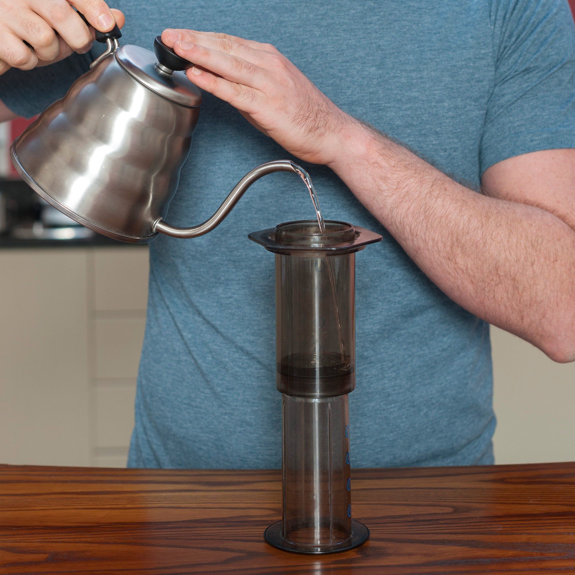 How to brew red espresso® rooibos on your AeroPress