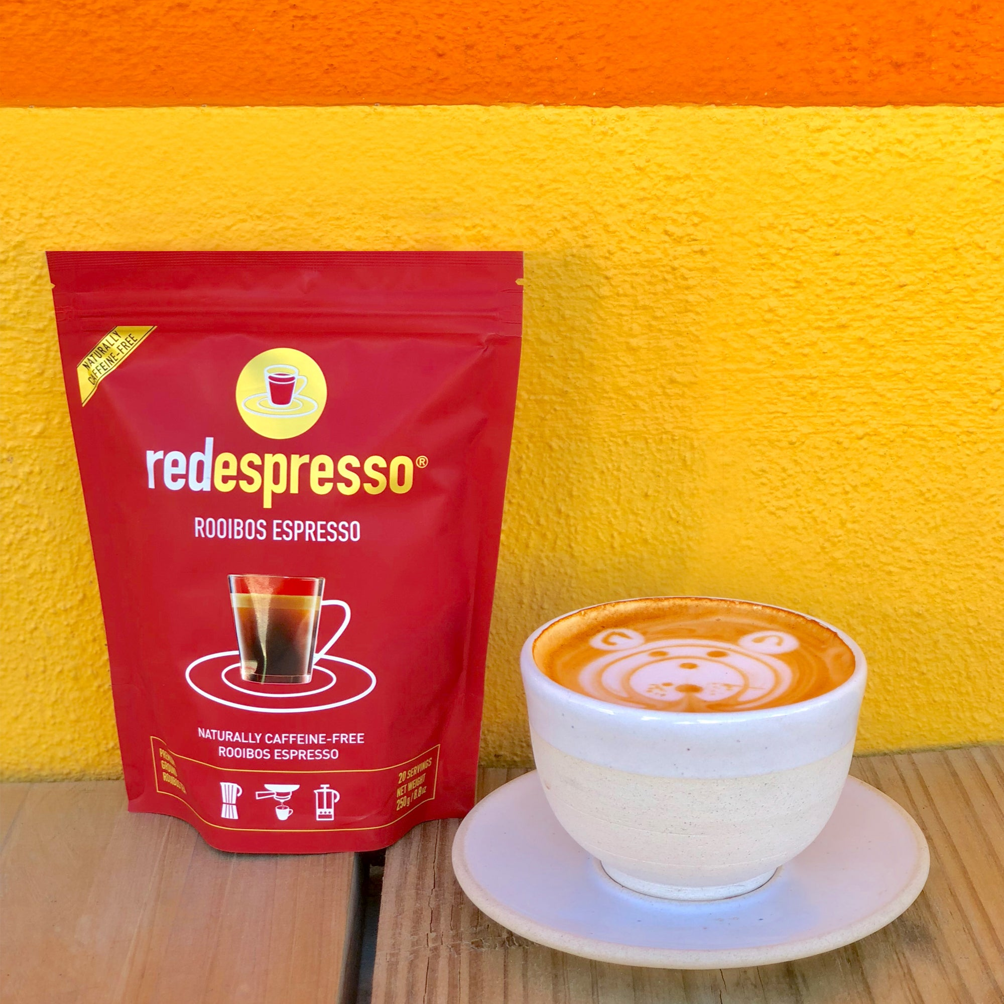 Our red espresso® rooibos is great for kids!