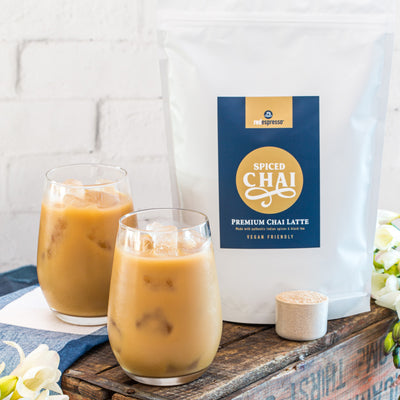 Premium spiced chai latte powder 4 x 1kg - vegan friendly