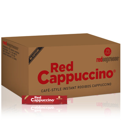 Instant red cappuccino 100 x single serve sachets