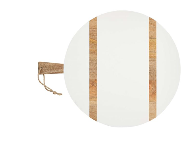 White Large Round Board