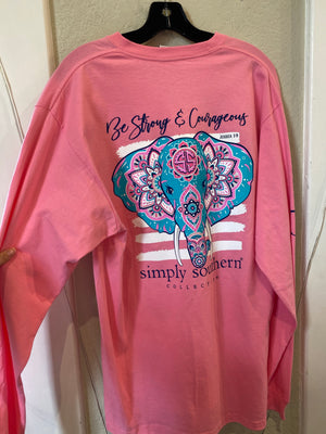 ELEPHANT FLAMINGO SHIRT