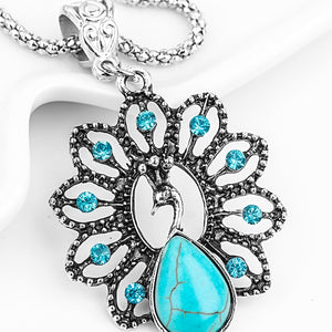 Exquisite Resin Peacock