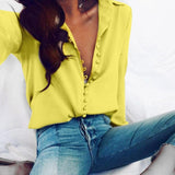 Chiffon Long-sleeved Top