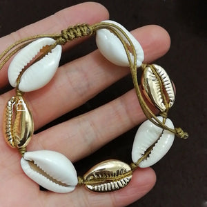 Handmade Natural Seashell Bracelet