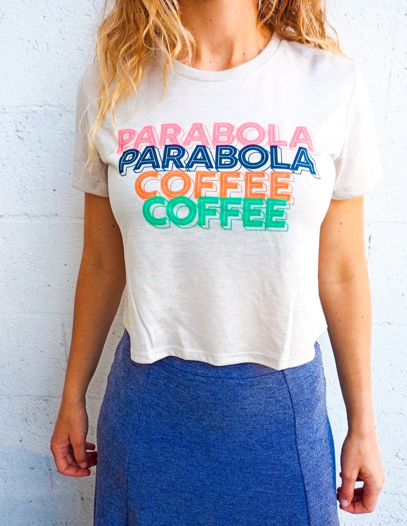 Women's Flowy Parabola Coffee Tee