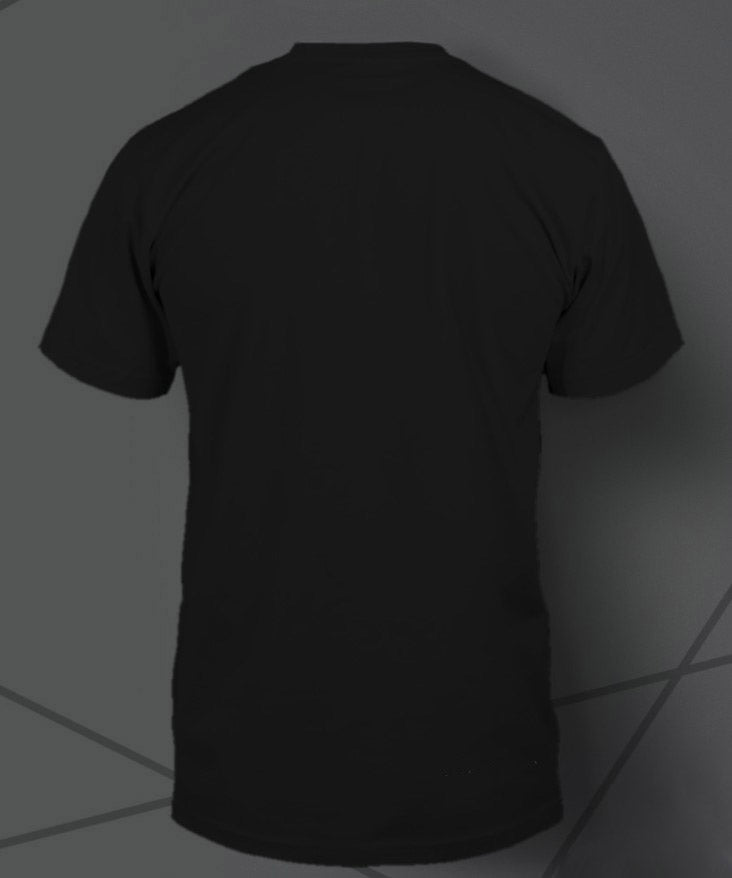 Men's Parabola Coffee Black Tee