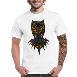 Coloured Black Panther T-shirt