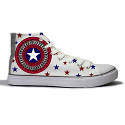 Captain America Canvas Shoes