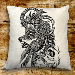 Tribal Knight Cushion