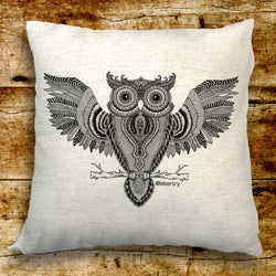 Wise Owl Cushion