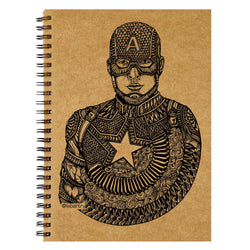 Captain America Sketchbook