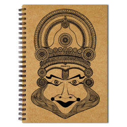 Kathakali Face Sketchbook