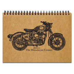 Himalayan Cruiser Sketchbook
