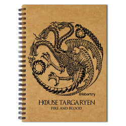 House Targaryen Notebook