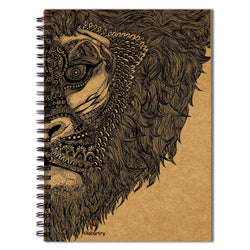 Majestic Lion Notebook