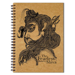Fearless Shiva Sketchbook