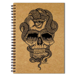 Skulled Snake Sketchbook