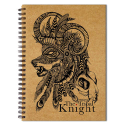 Tribal Knight Sketchbook
