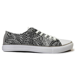 Full Patterned Canvas Shoes