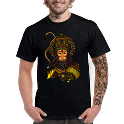 Coloured Humble Hanuman T-shirt