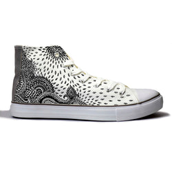 Indian Paisley Canvas Shoes