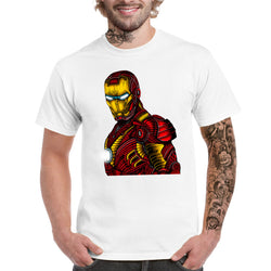 Coloured Iron Man T-shirt