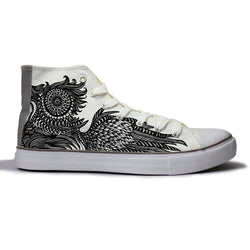 The Wise Owl Canvas Shoes