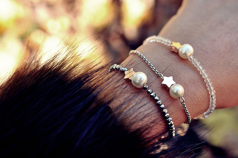 Bracelet MOONLIGHT pearls / Narukvica MOONLIGHT perlice