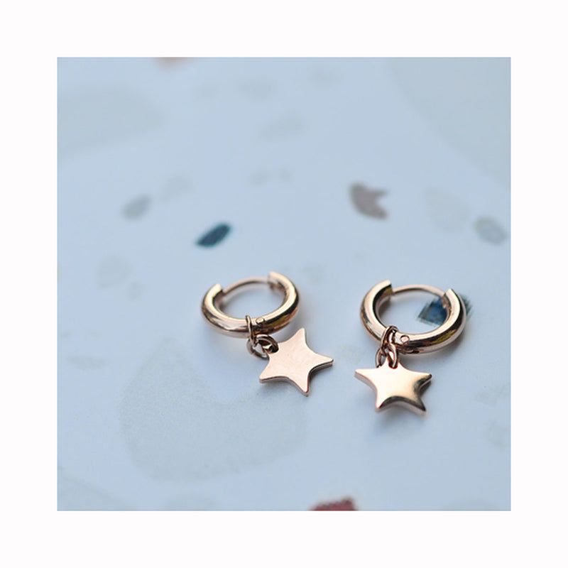 Mini hoops STARDUST earrings