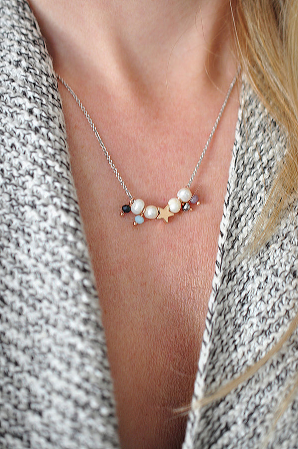 Spring DOTS necklace