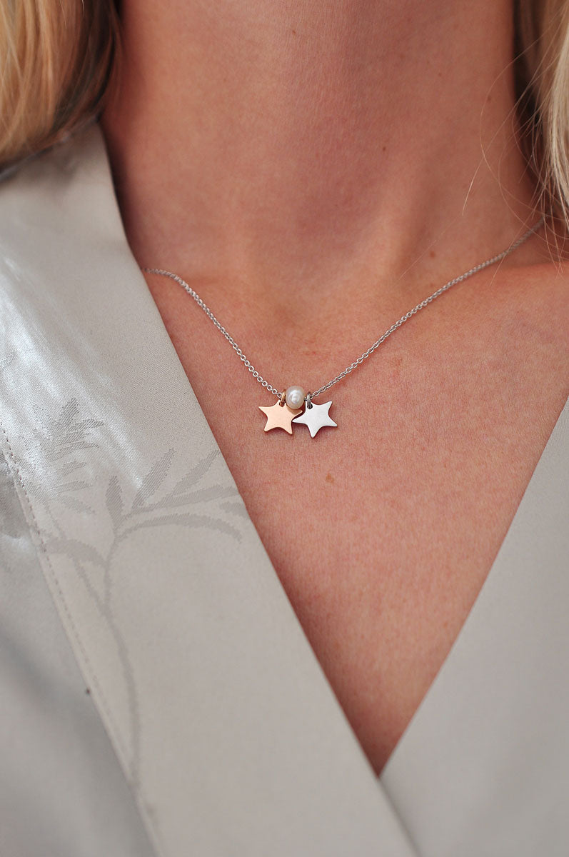 Silver plated MINI STAR necklace / Posrebrena MINI ZVJEZDICA ogrlica