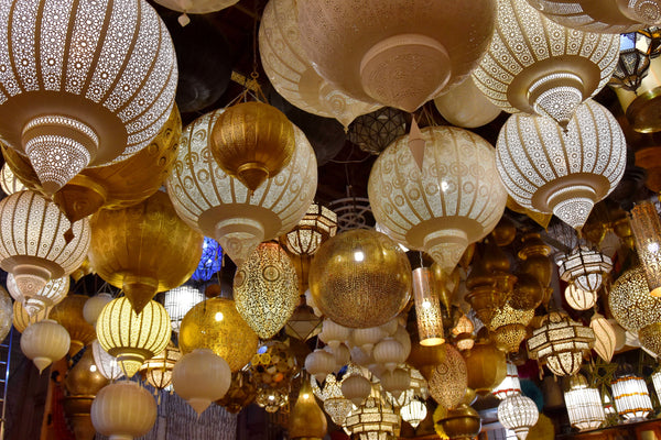 Moroccan lanterns in Marrakech