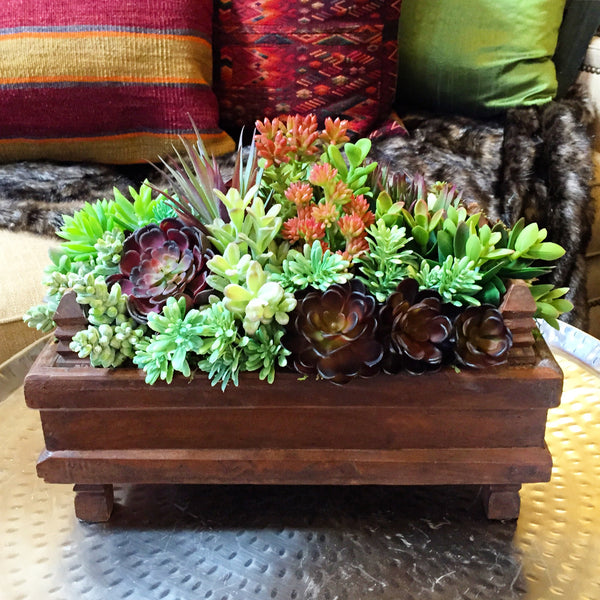 A Succulent Guide to Using Faux Foliage At Home