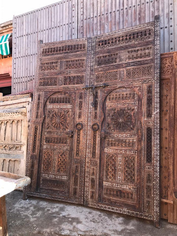 Marrakech Souks Doors