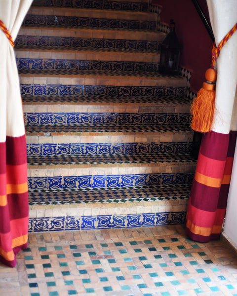 Marrakech Travel Tips stairs