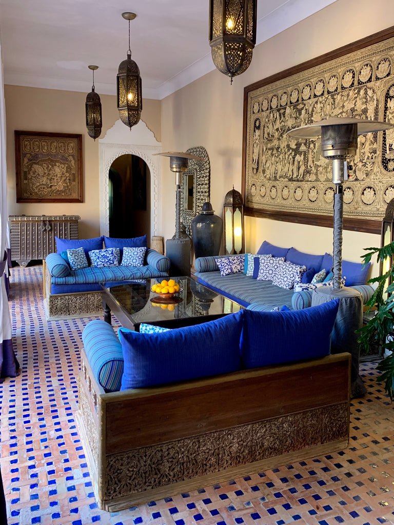 Marrakech Travel Tips poolside riad
