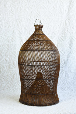 Indonesian Fish Trap Basket