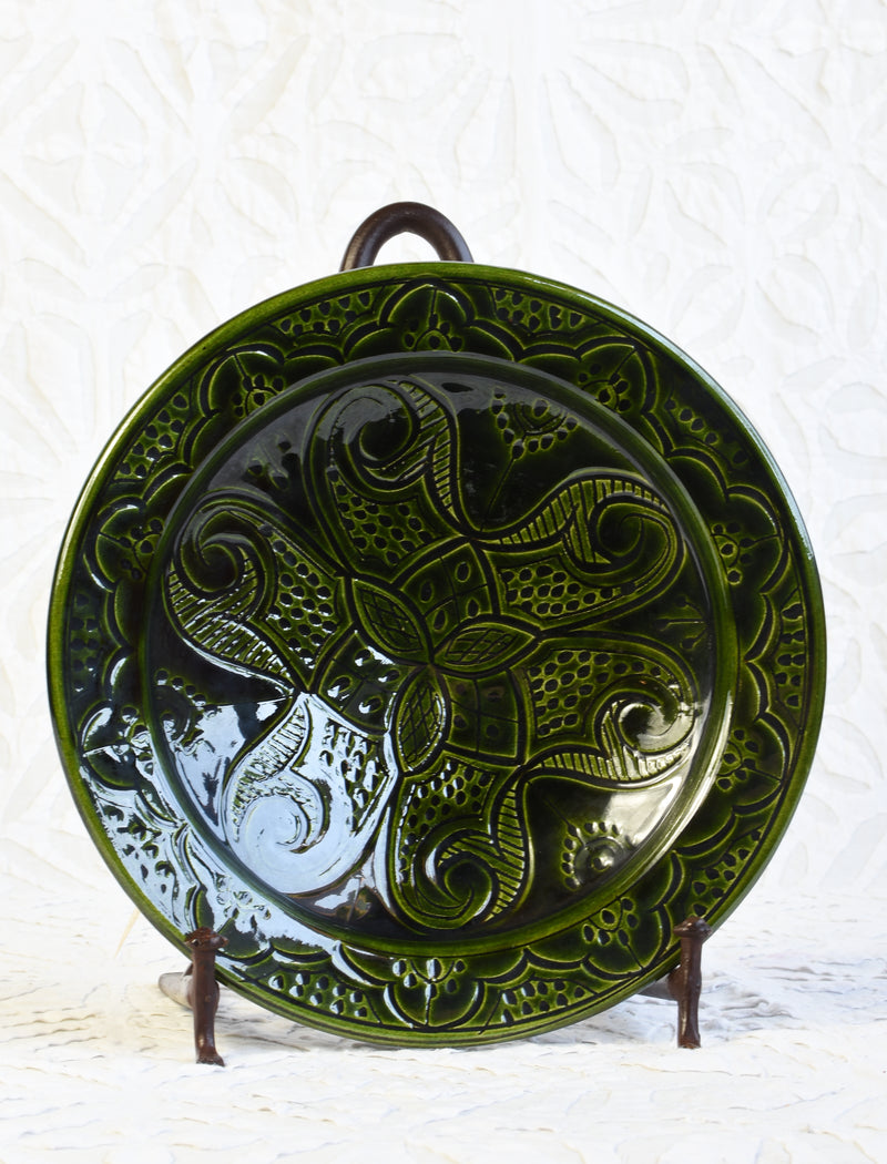 Safi Carved Plate - Small