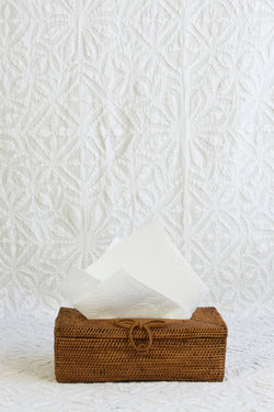 Tissue Box - Bow Front