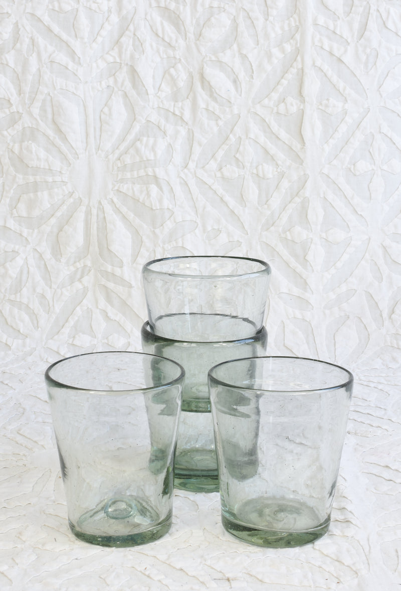 Handmade Drinking Glass - Short