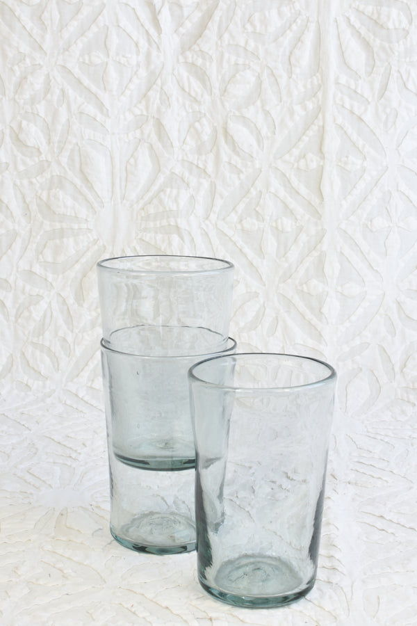 Handmade Drinking Glass - Tall