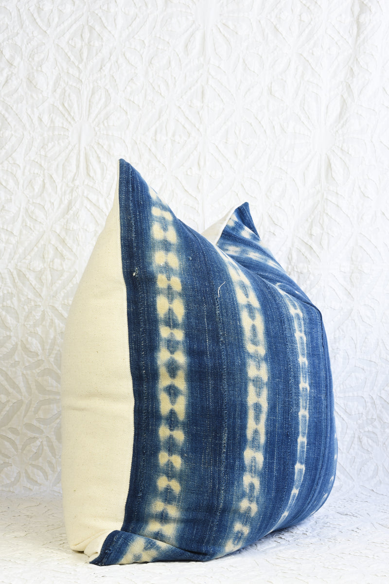 Mali Indigo Pillow - Square