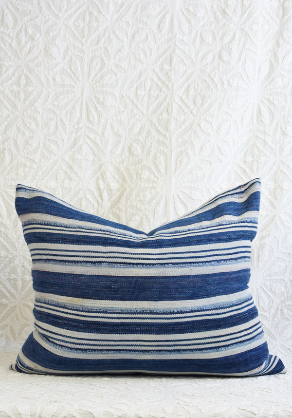 Mali Indigo Pillow - Lumbar