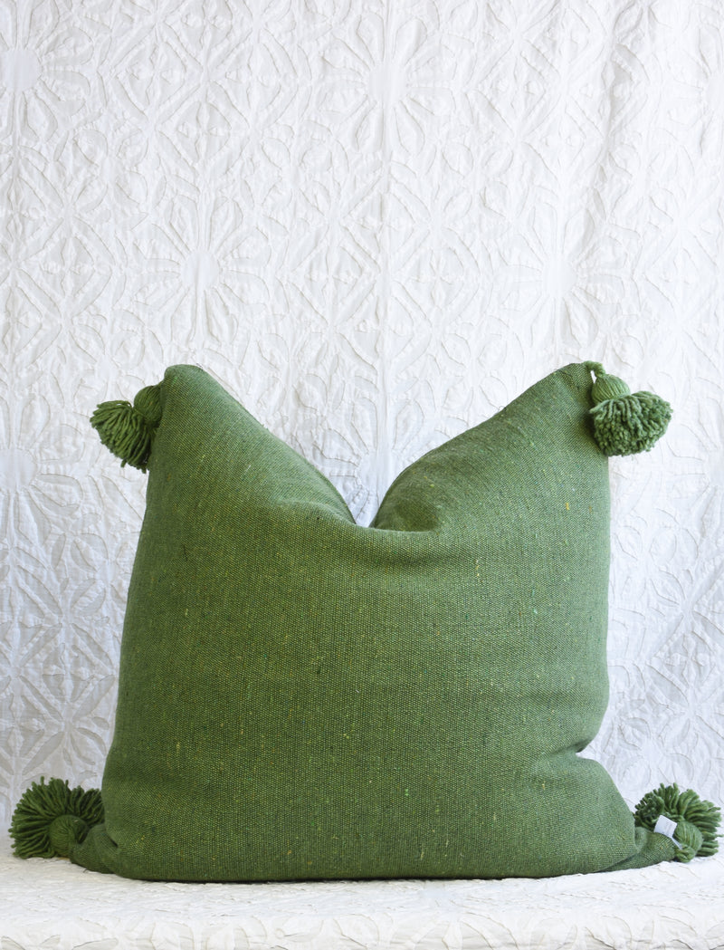 Pom Pom Pillow - Square