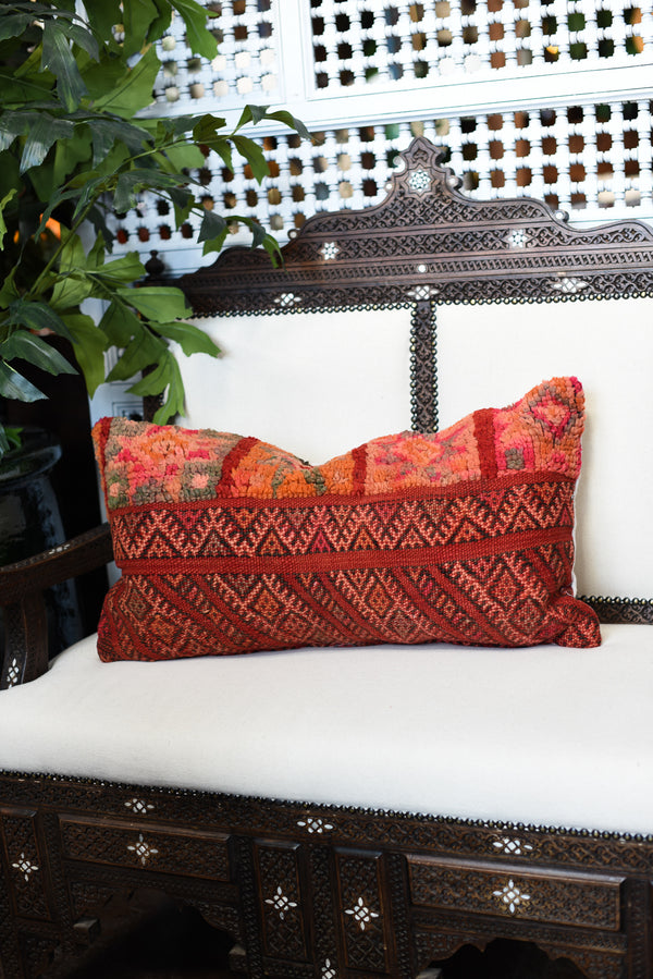 Kilim Lumbar Pillow - Medium