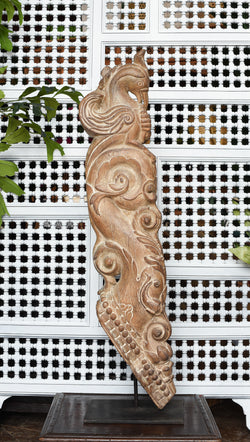 Antique Rajasthani Carved Corbel on Stand