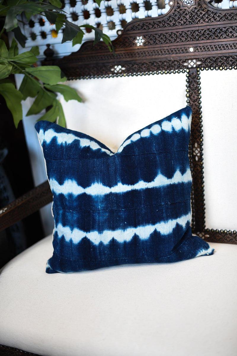 Mali Indigo Pillow - Small