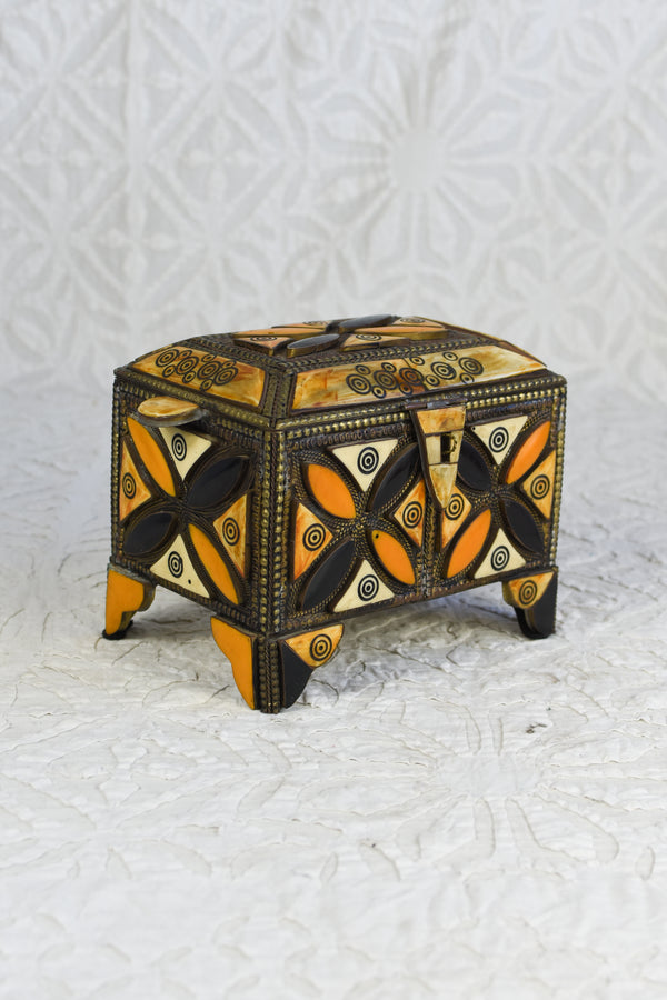 Rustic Bone Inlay Box