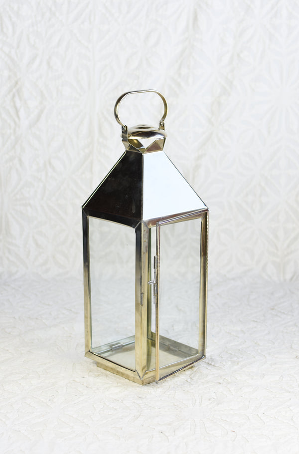 Silver Mechor Lantern - Small